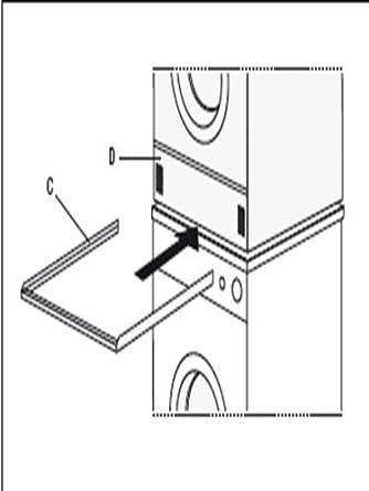 Zwischenbaurahmen Für Waschmaschine / Trockner Zu Wasch Trockensäule Ohne  Auszug Von Conny Clever® Aus