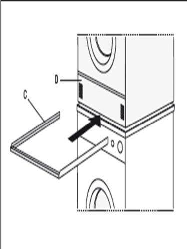Construcción de bastidor intermedio para la lavadora / Secadora ...