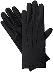 Isotoner womens Womens Stretch Classics Fleece Lined Gloves Winter Gloves