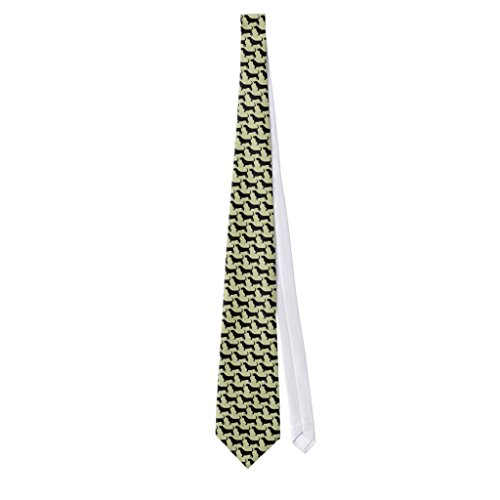 Zazzle Basset Hound Silhouettes Neck - Hound Tie