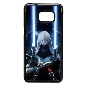Star Wars S3E7Xx Funda Samsung Galaxy S6 Edge Plus Nota 5 Borde caja del teléfono celular Funda Funda Negro L5N3FG plástico duro de la caja del teléfono