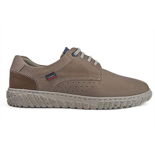 Taupe cuero Callaghan Taupe Zapatos 18502 zwqHUWP