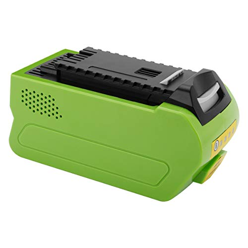 Joiry 40V 5000mAh Li-ion Replacement Battery Work with GreenWorks 29462 29472 (NOT for Gen 1)
