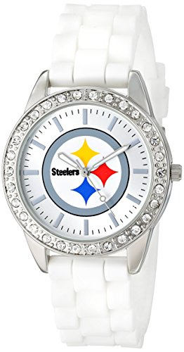 Pittsburgh Steelers Watch - Game Time Women's NFL-FRO-Pit