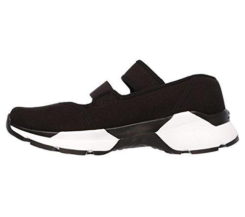 Skechers Zapatillas Zapatillas Negro Blanco Mujer Negro Skechers Mujer ZPAnH8wq