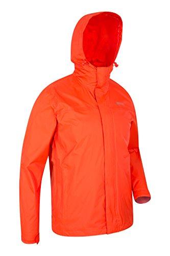 Da Zip Tasche Torrent Giacca Viaggio Uomo Casual Warehouse Nastrate Cappotto Arancione Due Capospalla Cuciture Impermeabile Leggero Con Mountain E6ZBqW
