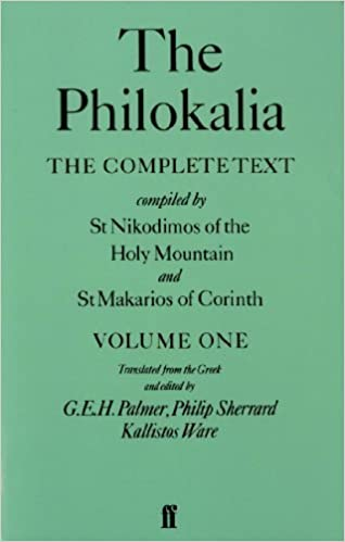 Book The Philokalia: The Complete Text - Vol. 1: v. 1 by Kallistos Ware (1983)