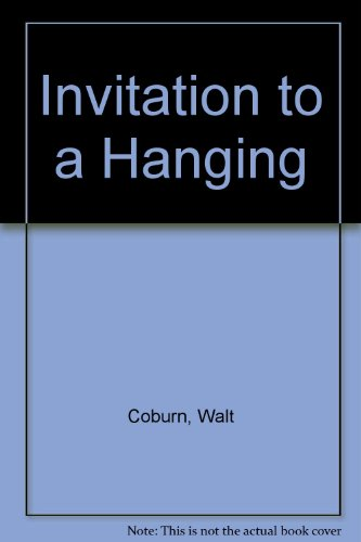 Invitation to a Hanging - Hanging Dorchester