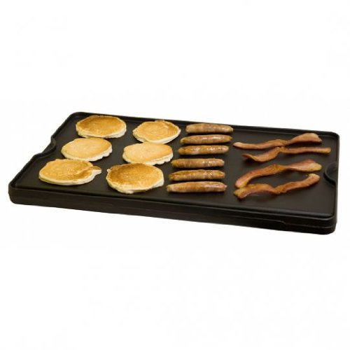 (Reversible Pre-seasoned Cast Iron Griddle)