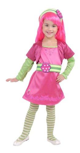 Rubies Strawberry Shortcake and Friends Deluxe Raspberry Tart Costume, Medium -