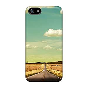 Snap-on Shiprock Road Skin Compatible With For SamSung Galaxy S4 Phone Case Cover