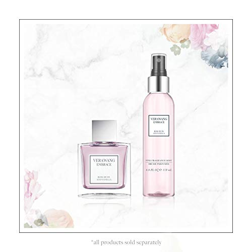 Vera Wang Embrace Eau de Toilette Rose Buds and Vanilla Scent 1 Fluid Oz Women Cologne Romantic Floral and Warm Fragrance