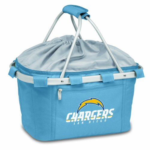 NFL San Diego Chargers Metro Insulated Basket, Blue