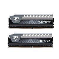 Patriot Viper Elite Series DDR4 8GB (2x4GB) 2666MHz PC4-21300 Dual Channel Kit (Black/Grey)
