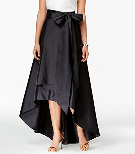 (Adrianna Papell Womens Plus Taffeta Hi-Lo Full Skirt Black 22W)