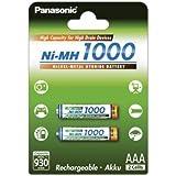 Panasonic micro Battery HHR-55AAAB AAA 1000mAh, 2x 1,2V, NiMH