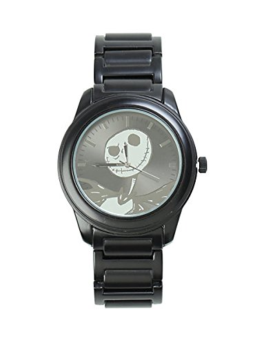 Nightmare Before Christmas Watch - The Nightmare Before Christmas Jack Black & Silver Watch 2014