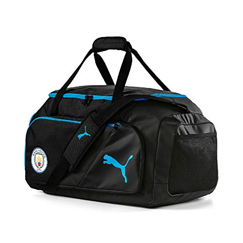 PUMA 2019-2020 Manchester City Medium Bag (Black) (Manchester City Shoe Bag)