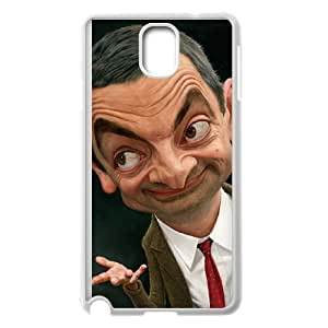 samsung galaxy note3 White Mr Bean phone case Christmas Gifts&Gift Attractive Phone Case HRN5C324268