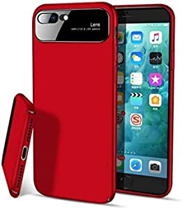 """iPhone 7 / iPhone 8 (4.7"""" inch) Matte Hard Ultra Thin Slim Cover Case Anti-Scratch with Matte Coating Full Protective - Matte Red"""