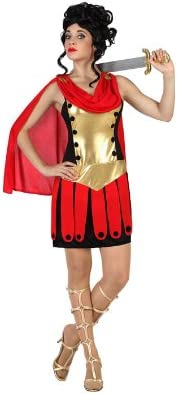 Atosa-57554 Atosa-57554-Disfraz Romana-Adulto XS a S-Mujer- rojo ...