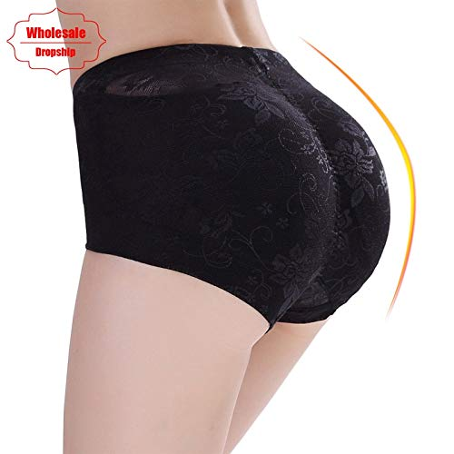 287cb8afb OUSPOTS Butt Lifter Enhancer Women Sexy Big Ass Padded Panty Seamless Lace  Control Panties Booty Push Up Hip Corrective Underwear