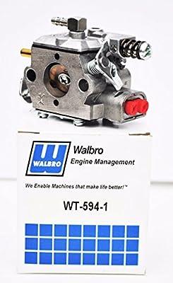 Genuine Oem Walbro Wt-594 Carburetor For Echo Cs-510 Cs-520 Chainsaw