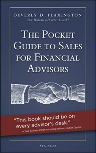 Book The Pocket Guide to Sales for Financial Advisors by Beverly D. Flaxington (2014-11-23)