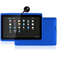 Egmy 7 Tablet - Android 4.4, Quad Core,1024x600 HD Screen, Dual Camera, Bluetooth, Wi-Fi, 8GB, 3D Game Supported(Blue)