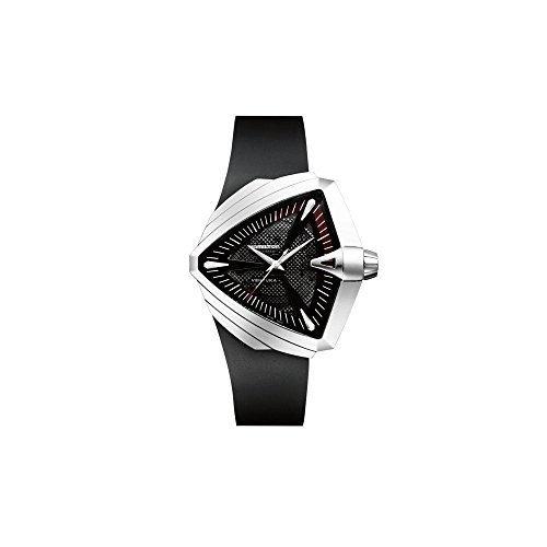 Hamilton-Mens-H24655331-Ventura-XXL-Analog-Display-Swiss-Automatic-Black-Watch