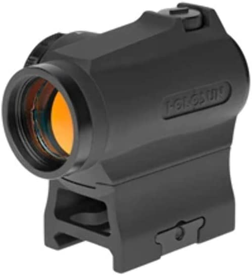 HOLOSUN HS503R Cicle Dot/Rotary Switch Micro Red Dot Tactical Sight,Black