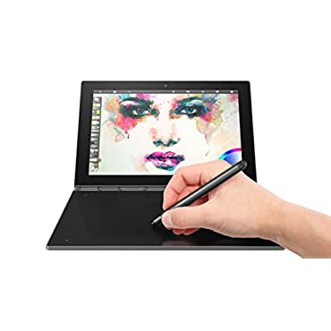 Lenovo Yoga Book FHD 10.1 Android Tablet 2 in 1 Tablet (Intel Atom x5-Z8550 Processor, 4GB RAM, 64GB SSD), Gunmetal, ZA0V0035US