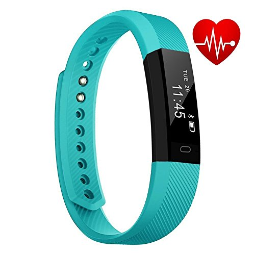 Fitness Tracker| Wristband Smart Watch| Step Counter, Distance Tracker, Calorie Burn Tracker, Sleep Monitor, HR monitor,Calling, Camera, Find Phone, Alarm. Bluetooth 4.0 for Android and iOS iPhone.