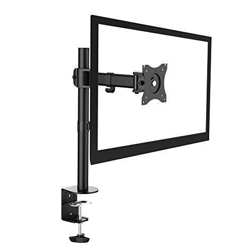 'SAVONGA' MONITOR TV STÄNDER Tischständer 203L mit Schwenkarme drehbar schwenkbar neigbar ROTIERBAR VESA 75 x 75 100 x 100 für 10