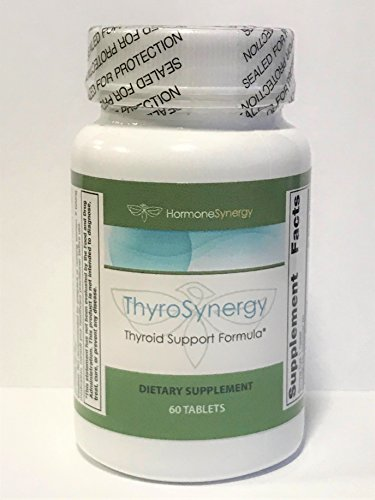 Thyroid Support 60 Tablets (ThyroSynergy | Thyroid Support Formula | 60 Tablets)