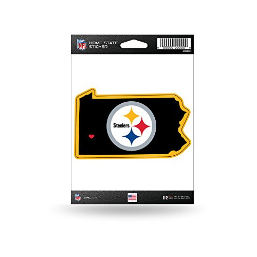 - Rico Industries NFL Pittsburgh Steelers Home State Sticker
