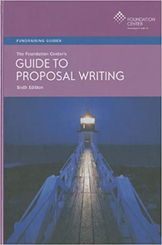 the foundation centers guide to proposal writing foundation guide