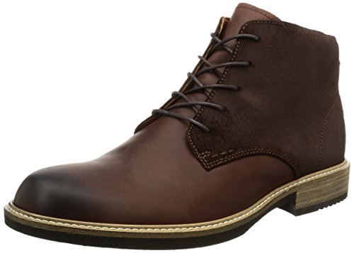 ECCO Men's Kenton Plain Toe Chukka Boot, Mink/Mocha, 45 EU/11-11.5 M (Ecco Plain Boots)