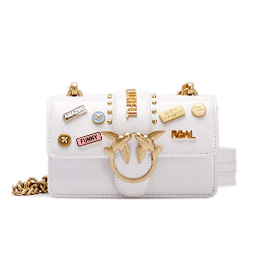 Shoulder festa Crossbody la giallo Women nozze Pollusui Piccola Leather limone colore Bag di Fashion bianca frizione per dqExvwC