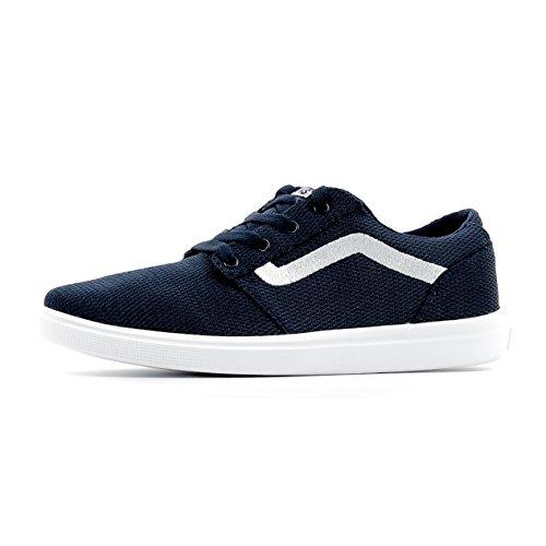 VANS CHAPMAN LITE A38J3LOK zapatos de bebé azul zapatillas de deporte de tela ligera Blu