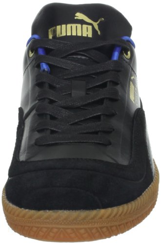 PUMA Mens Chilena Luxe Lace-Up Fashion Sneaker Black/Puma Royal zSUnSdo