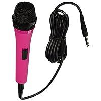 Singing Machine SMM205P Micrófono dinámico unidireccional con cable de 10 pies