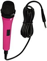 Singing Machine SMM205P Uni-Directional Dynamic Microphone with 10-Foot Cord