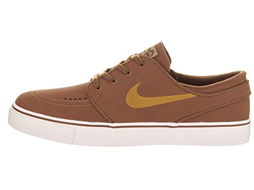 Nike SB Zoom Stefan Janoski L Leather Ale Brown/Desert Ochre Sail Marrón