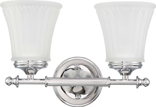 Nuvo Lighting 60/4262 Two Light Vanity, Polished Chrome