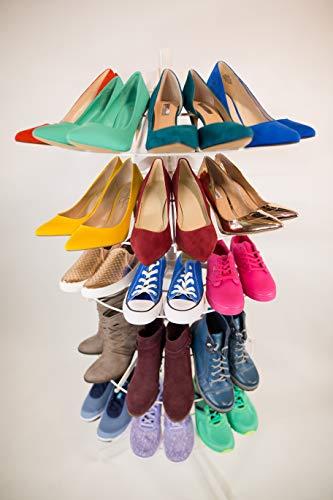 Show Time Carousel Shoe Rack Organizer