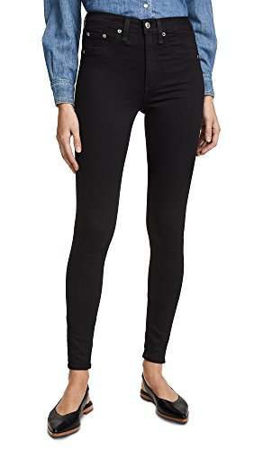 "Rag & Bone/JEAN Women's 10"" Skinny Jeans, Black, 23 from Rag & Bone/JEAN"