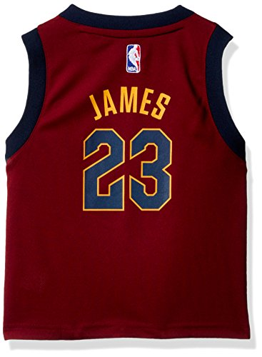 (Outerstuff Toddler Replica Road Player Jersey, Lebron James, 4T)