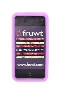 "Fruwt FP-IP4-PNK 3.5"" Skin Rosa funda para teléfono móvil - fundas para teléfonos móviles"