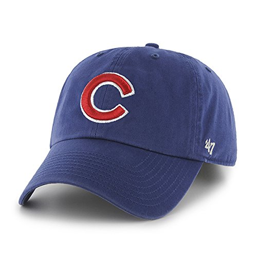 2aeb209df37da Amazon.com    47 Chicago Cubs Adjustable  Clean up  Hat by Brand ...